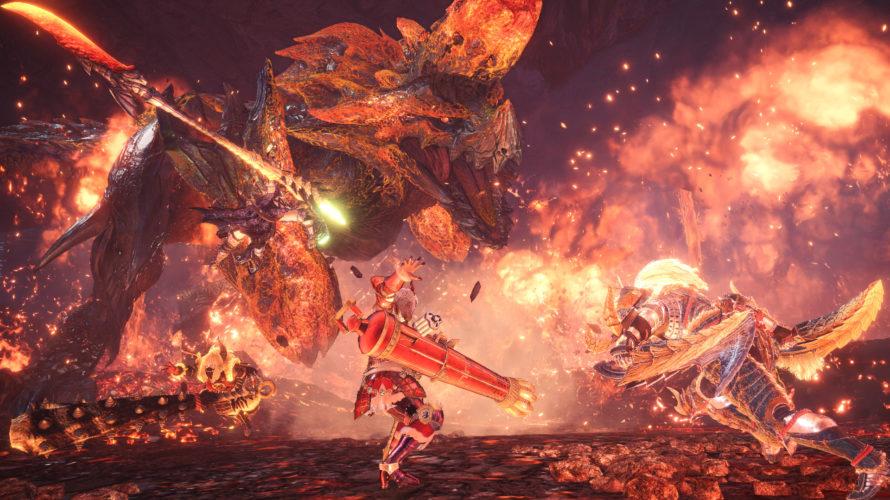 【MHW:I】対猛り爆ぜるブラキディオス装備:絶対に近づきたくないマンの初クリア装備