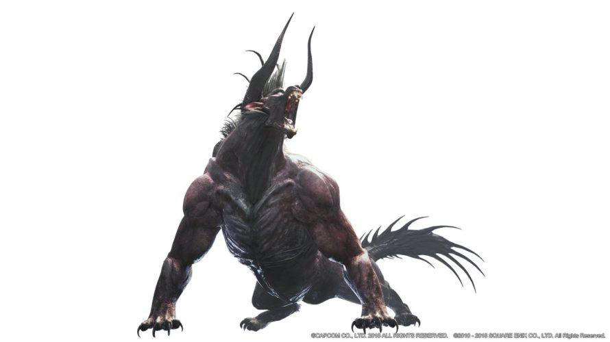 【MHW】対ベヒーモス装備~攻守共に頑張るマン~:狩猟笛&広域化・早食い